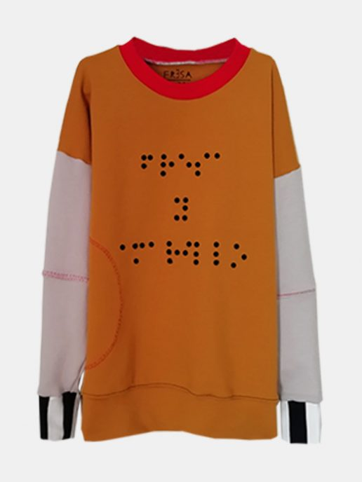 SUDADERAS BRAILLE