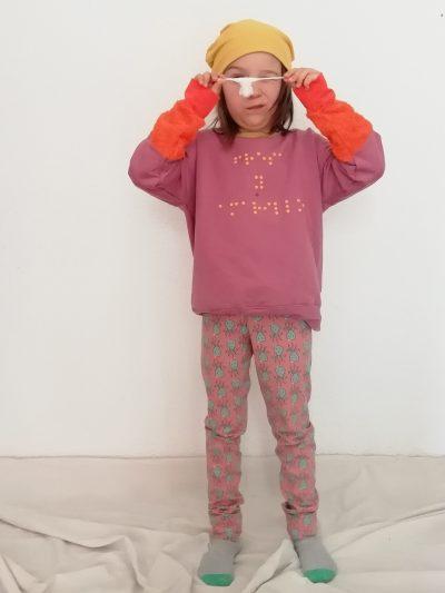 sudadera-nio-infantil-braille-rosa-y-naranja