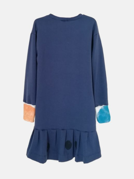 vestido-nia-infantil-interrogacin-color-azul-trasera