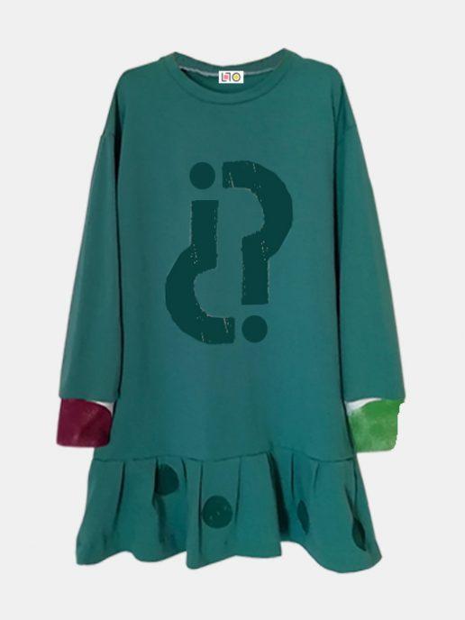 vestido-nia-infantil-interrogacin-color-verde