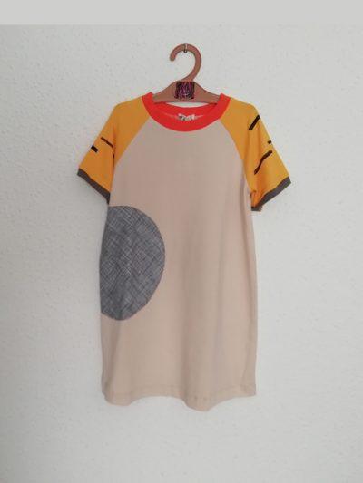 vestido-camiseta-nio-infantil-beige-y-tigre.