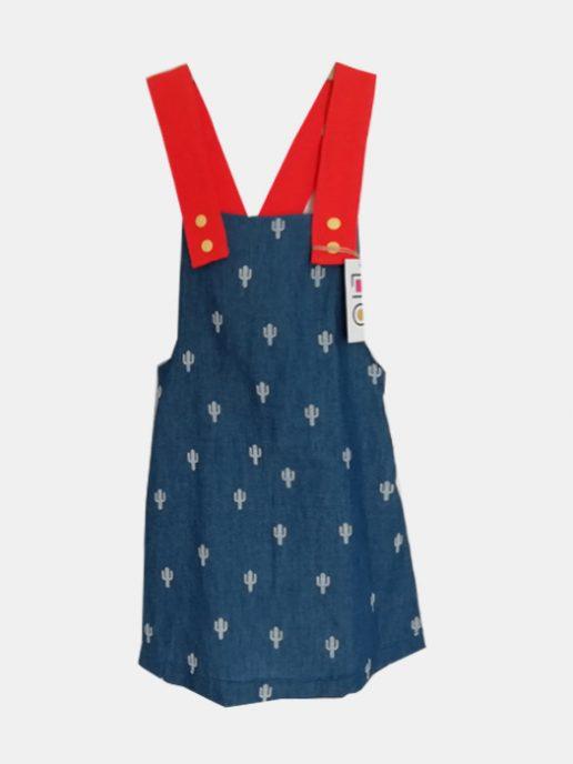 vestido-nia-infantil-vaquera-cactus-tirantes