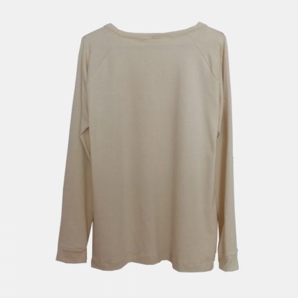 camiseta-adulta-estampada-botella-arcoiris-beige-trasera