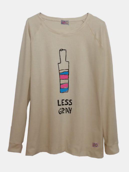 camiseta-adulta-estampada-botella-trans-beig
