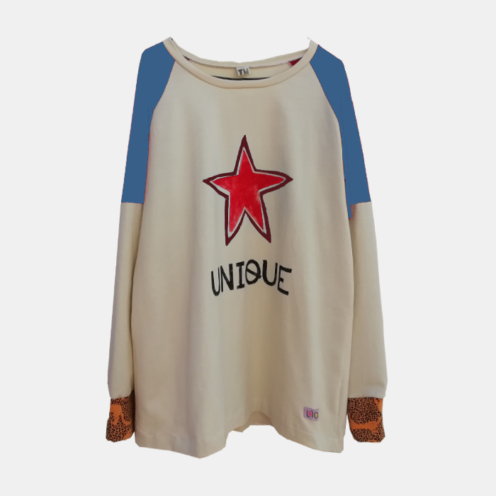 camiseta-adulta-estampada-estrella-roja-unique-1