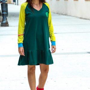 vestido-adulta-verde-estampacin-manzana-1