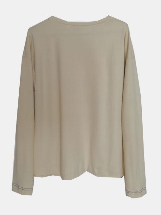 camiseta-adulta-estampada-manzana-amarilla-trasera