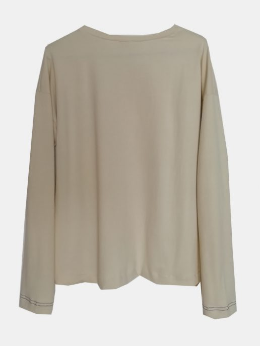 camiseta-adulta-estampada-manzana-azul-trasera