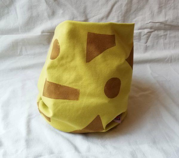 cuello-infantil-y-adulto-amarillo-estampacin-geomtrica